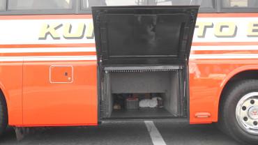 小型バス トランク